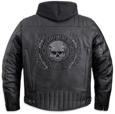 ** Harley-Davidson Corona 3-in-1 Leather Jacket 97094-12VM : Harley Davidson Jackets, Vintage Mens Jacket, Vests, Leather Jackets, harley jacket, Chaps, motorcycle gear