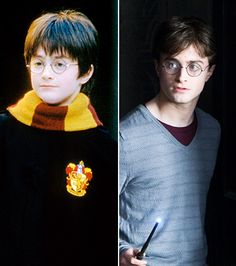 Daniel Radcliff has to be one of the cutest kids ever.  He grew up nicely too!