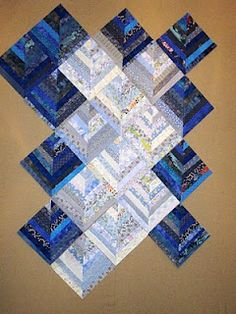 string quilt - there are some pretty quilts on this site