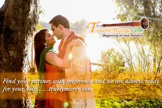 It's time to change something in your life , if u r waiting for someone special... so come and join our matrimonial site and trust me we provide best match for u. Visit : www.truelymarry.com Contact us :8393030005