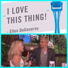 """Do you watch The ELLEN DEGENERES show?  The Rodan + Fields AMP MD roller has been highlighted by Beauty expert Kym Douglas as part of her """"Oscar Beauty Prep""""! She demonstrated how to roll and talked about the benefits of micro-exfoliation! Ellen said, """"I know what that is, I use it all the time!"""" Check it out!  https://jwhitney.myrandf.com/"""