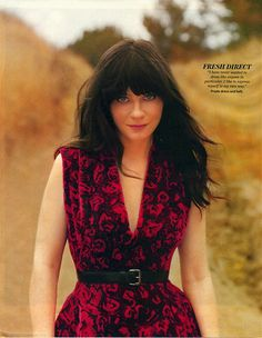 zooey deschanel. What a talent.