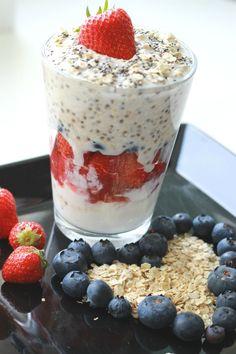 Overnight Oats – herkkusuun aamiainen (MiniFitness)