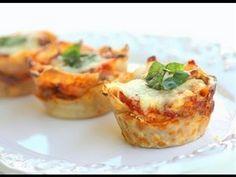 Elle Met Des Pâtes à Lasagne Dans Un Moule À Muffins… Sa Recette Est Un Vrai Délice. Miam ! »