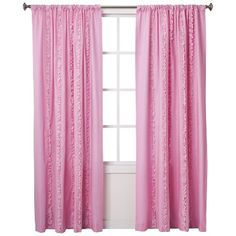 Pink Ruffled Curtains By Circo, My Store Did Not Have The Online Price!