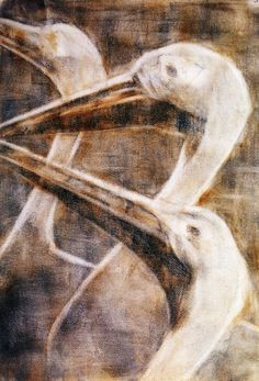 Herons (Christian Rohlfs - No dates listed)