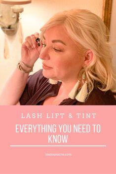 Lash Lift & Tint-Everything You Need To Know - loulousucre Eyelash Tinting, Eyelash Serum, Eyelash Growth, Curling Eyelashes, Magnetic Eyelashes, False Eyelashes, Natural Lashes, Natural Makeup, Mascara Review