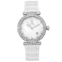Jivago Ladies' Bijoux Watch In White