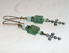 Hey, I found this really awesome Etsy listing at http://www.etsy.com/listing/162953097/aqua-picasso-earrings-religious-jewelry