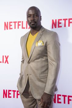 Have you seen Mike Colter? Mike Colter, Luke Cage, My Father, Gorgeous Men, Looks Great, How To Look Better, Suit Jacket, Facts, Blazer