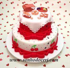 Bolo picnic! curta nossa página no Facebook: www.facebook.com/sonhodocerj