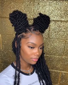 Long Box Braids: 67 Hairstyles To Upgrade Your Box Braids - Hairstyles Trends Box Braids Hairstyles, Braided Hairstyles For Black Women, Dreadlock Hairstyles, Baddie Hairstyles, Braids For Black Hair, Girl Hairstyles, Locks Hairstyle, Summer Hairstyles, 2 Braids