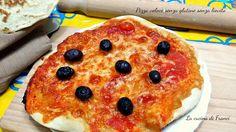 Pizza veloce senza glutine senza lievito