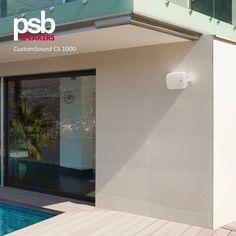 Universal In-Outdoor Speakers White Outdoor Speakers, Retail Stores, Open Spaces, Bass, Restaurants, Commercial, Hotels, Range, Australia