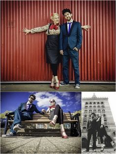 Swing Dance in the City Inspiration {E-Shoot} | Confetti Daydreams - A fun engagement shoot shot in the city streets of Bristol, UK ♥ #EShoot #EngagementShoot #E-Shoot