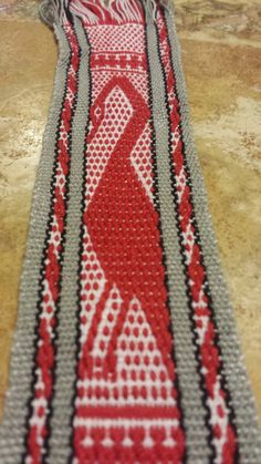 "Weaving in Sangre del Sol: ""Not so Livestock"" Competition - Andean Pebble Weave"