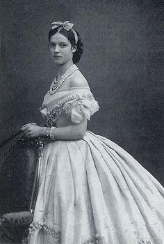 Princess Dagmar of Denmark, who became Empress Marie Feodorovna of Russia (1866)