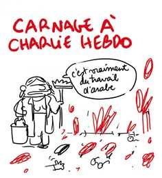 Cartoon - je suis Charlie