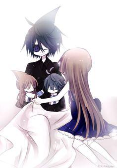 Samewada family-sweet dreams by mijikai-tan on DeviantArt Anime Bento, Mysterious Girl, Rpg Horror Games, Grey Gardens, Furry Girls, Deep Blue Sea, Fanart, Team Fortress, Anime Style