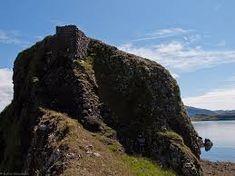 Ruins of Coroghon Castle Isle of Canna
