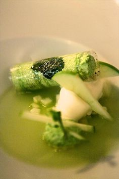 Apple Soup by Mauro Colagreco, Mirazur