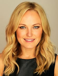 Malin Akerman has the best structured curls.