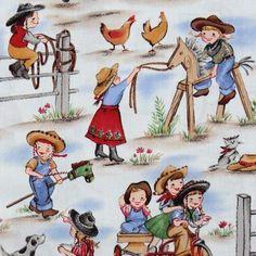 funny Michael Miller vintage fabric cowboy girls (Sold in multiples of 0.5 meter) by Michael Miller, http://www.amazon.com/dp/B00523GJMI/ref=cm_sw_r_pi_dp_bB4.qb1YXHJNF