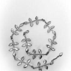 HerbertandWilks Jewellery Flower Earrings, Hoop Earrings, Sterling Silver Hoops, Necklaces, Bracelets, Wearable Art, Sculpture, Jewellery, Chain