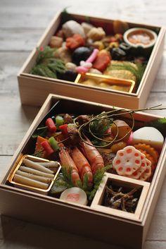 Bento box. Japanese. Osechi