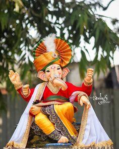 Shri Ganesh Images, Ganesh Chaturthi Images, Ganesha Pictures, Ganesh Wallpaper, Lord Shiva Hd Wallpaper, Lord Vishnu Wallpapers, Ganapati Decoration, Decoration For Ganpati, Clay Ganesha