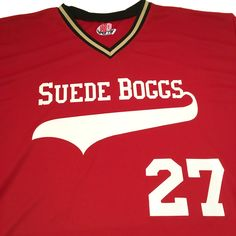 HK Sportswear will take just about any name and make a logo for it! Suede Boggs, Swede Groggs -- whatever! If you can dream it - we can make it How To Make Logo, Baseball Jerseys, Team Names, Spy, Sportswear, V Neck, Color, Baseball Shirts, Colour