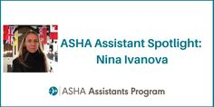 Nina Ivanova is from Cheboksary, Russia. She chose this career path after working with a nonverbal autistic child. She enjoyed helping make him happy through speaking and reading his favorite book. What is Assistant Spotlight Nina's favorite professional moment? An adult male getting a diagnosis of Autism for the first time in his life in his mid-30s, after being wrongfully diagnosed with anything from schizoid personality to schizophrenia. She was a part of a wonderful change. Say hi to…