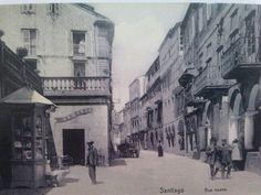 Rúa Nova, Santiago de Compostela.