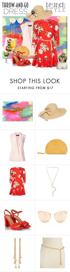 """""""Gal Sunday Brunch"""" by daincyng ❤ liked on Polyvore featuring Oliver Gal Artist Co., TIBI, Topshop, Kenneth Cole, Fratelli Karida, Quay, Berry, Michael Kors and easydresses"""