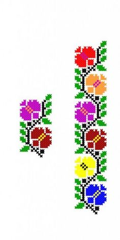 Cross Stitch Borders, Simple Cross Stitch, Cross Stitching, Cross Designs, Cross Stitch Designs, Cross Stitch Patterns, Creative Embroidery, Crewel Embroidery, Bee Crafts