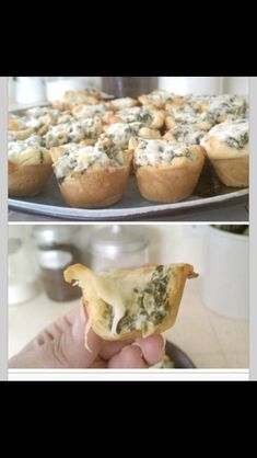 Oh My God I'm In Love! Cheesy Spinach And Artichoke Bits ❤️ #Food #Drink #Trusper #Tip