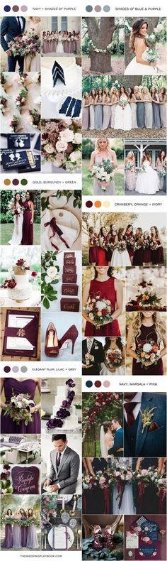 fall wedding color ideas for 2017 trends
