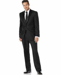 Lauren By Ralph Lauren Black Tuxedo - Suits & Suit Separates - Men - Macy's