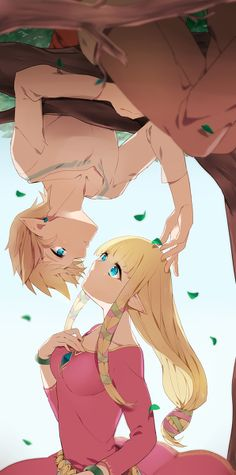 Link and Zelda, The Legend of Zelda: Skyward Sword