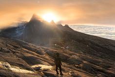 Mount Kinabalu Sunset © PhotoTravelNomads.com