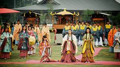 The Heian Period Comes Alive  saioh matsuri #mie #japan
