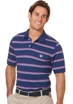 Chaps  SS FANCY POLOS-FRESHWATER