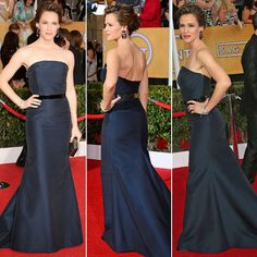 Do you like Jennifer Garner's less-is-more look on the #SAGAwards  red carpet? …