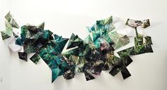 Mixed media photography installation - Google Search