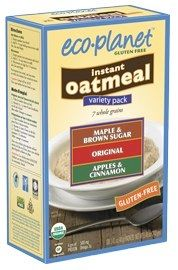 Eco Planet makes oatmeal Gluten Free Brands, Glutenfree, Planets, Oatmeal, How To Make, Gluten Free, Sin Gluten, Rolled Oats, The Oatmeal