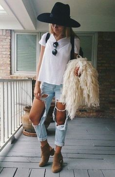 Denim + Lace :: Boho Style :: Shorts + Cardigans :: Jackets :: Ripped Jeans :: Distressed + Tan :: Free your Wild :: See more Untamed Denim Style Inspiration @untamedmama ::