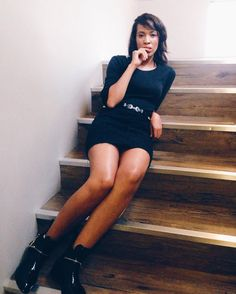 Chillin on the steps before entering my sister's @thegatheringza event tonight