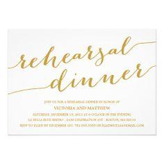 MODERN CALLIGRAPHY | REHEARSAL DINNER INVITATION http://www.zazzle.com/modern_calligraphy_rehearsal_dinner_invitation-161525686808348953?rf=238194283948490074&tc=pfz