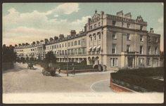 Hampshire. Gosport. Stokes Bay, The Crescent - Vintage F.G.O. Stuart Postcard