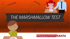 The marshmallow test and instant gratification | Productivity Arata 06